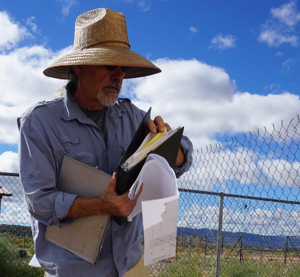 Wastewater Specialist Richard Jennings